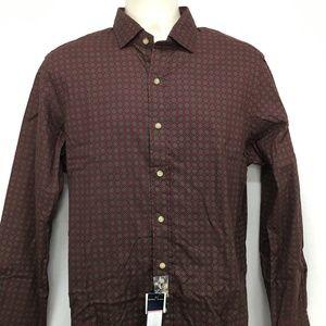 Polo Ralph Lauren Mens Large Button Front Shirt Bu